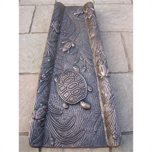 Oakland Living Cast Aluminum Splash Block in Antique Bronze