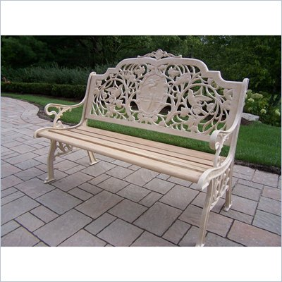Oakland Living Golfer Bench in Beach Sand