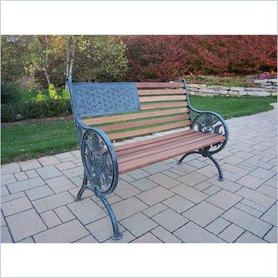 Oakland Living Proud American Bench