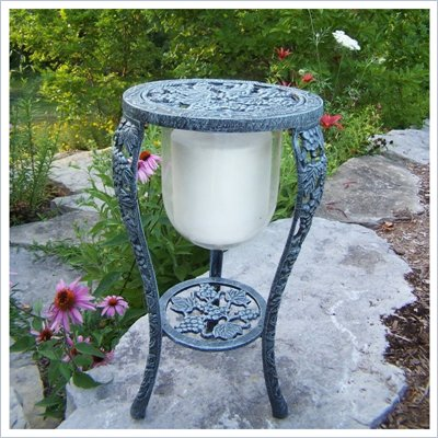 Oakland Living Grape Themed Candle Holder with Candle