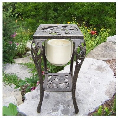 Oakland Living Hummingbird Candle Holder with Candle
