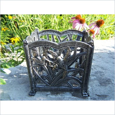 Oakland Living Hummingbird 8 Inch Square Flower Pot