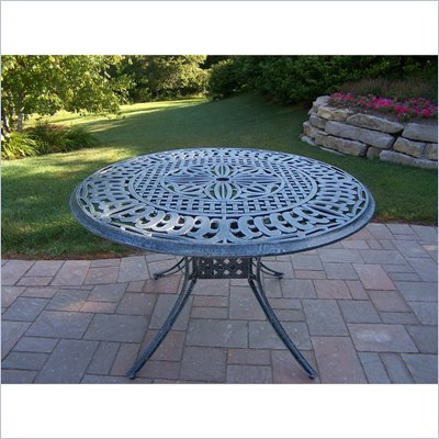 Oakland Living 48&quot; Capital Round Table with Cast Top