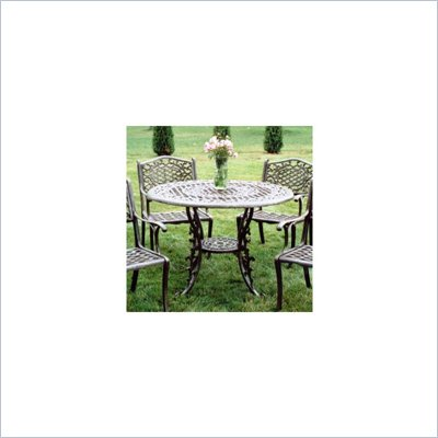 "Oakland Living 42"" Round Table with Cast Top"
