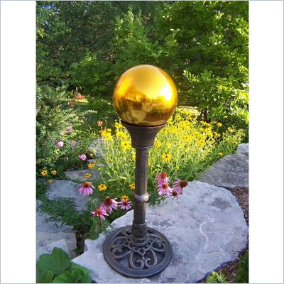 Oakland Living Gold Gazing Ball in Antique Bronze