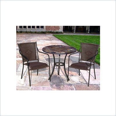Oakland Living New Port Stone Art 3-Piece Set