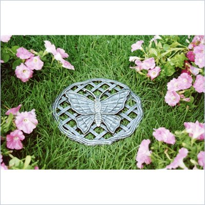 Oakland Living Stepping Stone Butterfly in Antique Pewter