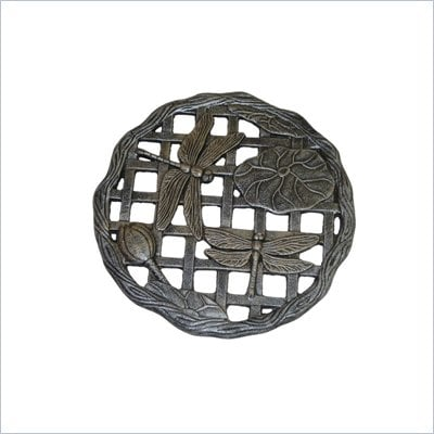Oakland Living Stepping Stone Dragonfly in Antique Pewter