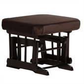 Dutailier Espresso Ottoman For Sleigh and 2 Post Gliders in Chocolate