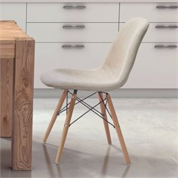 ZUO Selfie Dining Chair in Beige