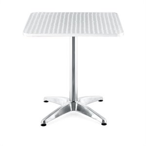 Zuo Outdoor Christabel Square Aluminum Table