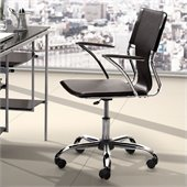 Zuo Trafico Office Chair in Black
