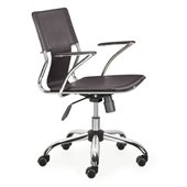 Zuo Trafico Office Chair in Espresso