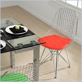 Zuo Mesh Dining Chair Frame in Chrome