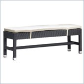 Zuo Myrtle Outdoor Double Bench