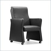 Zuo Burlarm Chair in Black