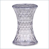 Zuo Prisma Stool  in Transparent  