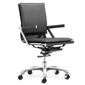 Zuo Lider Plus Office Chair in Black