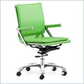 Zuo Lider Plus Office Chair Green