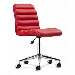 Zuo Admire Office Chair in Red