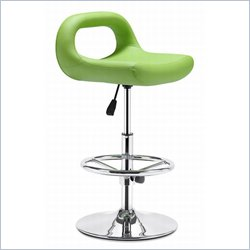 Zuo Carafe Bar Chair in Green