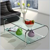 Zuo Lujuria Entertainment Stand in Clear