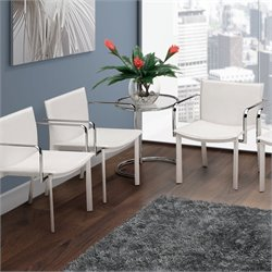 Zuo Gekko Conference Guest Chair in White