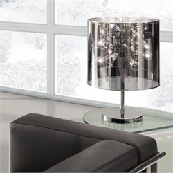 Zuo Supernova Table Lamp in Chrome