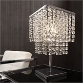 Zuo Falling Stars Table Lamp in Chrome