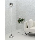 Zuo Neutrino Floor Lamp in Chrome