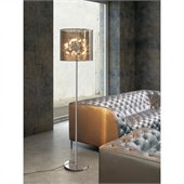 Zuo Quasar Floor Lamp in Chrome