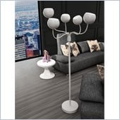 Zuo Luminosity Floor Lamp in White