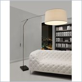 Zuo Blazar Floor Lamp in Chrome