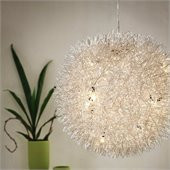 Zuo Warp Ceiling Lamp in Chrome