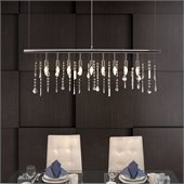 Zuo Shooting Stars Ceiling Lamp in Chrome