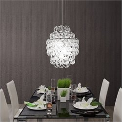 Zuo Cascade Ceiling Lamp in Chrome
