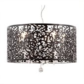 Zuo Nebula Ceiling Lamp in Black