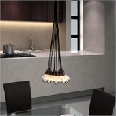 Zuo Bosonic Ceiling Lamp in Chrome