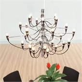 Zuo Bradyon Ceiling Lamp in Chrome