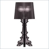 Zuo Salon Small Table Lamp in Translucent Black