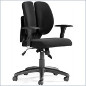 ZUO Aqua Modern Mesh/Polyester Office Chair in Black Mesh