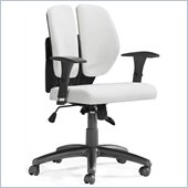 ZUO Aqua Modern PU Office Chair in White PU