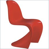 ZUO Baby S Modern ABS Kids Chair in Red