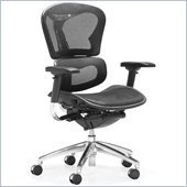 ZUO Harlow Modern Mesh Office Chair in Black