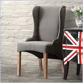 Zuo Marina Armchair in Charcoal Gray