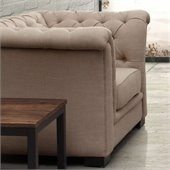 Zuo Nob Hill Armchair in Beige