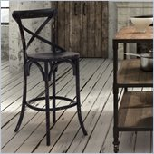 Zuo Union Square Bar Chair in Black