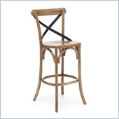 Zuo Union Square Bar Chair in Natural