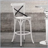 Zuo Union Square Bar Chair in White