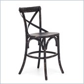 Zuo Union Square Counter Chair in Black